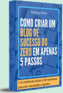 criar blog do zero capa ebook