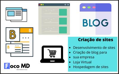 Criação de sites - Foco MD